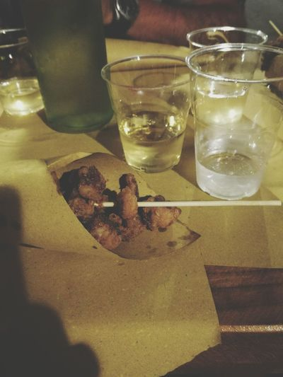Sicilianfood Friedoctopus Food And Drink Refreshment Wineglass People Culture Food Drink Table First Eyeem Photo