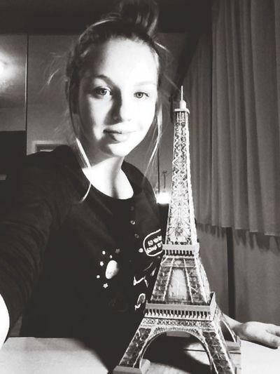 The Best Gift Ever All I Want For Christmas Tour Eiffel Puzzle