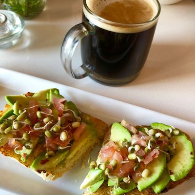 Avocado Toast at Copper Branch CopperBranch Toast Bread Avocado Food And Drink Food Freshness Drink Table Serving Size Refreshment