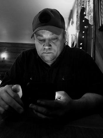 Internet Addiction Phoneaddict Portrait
