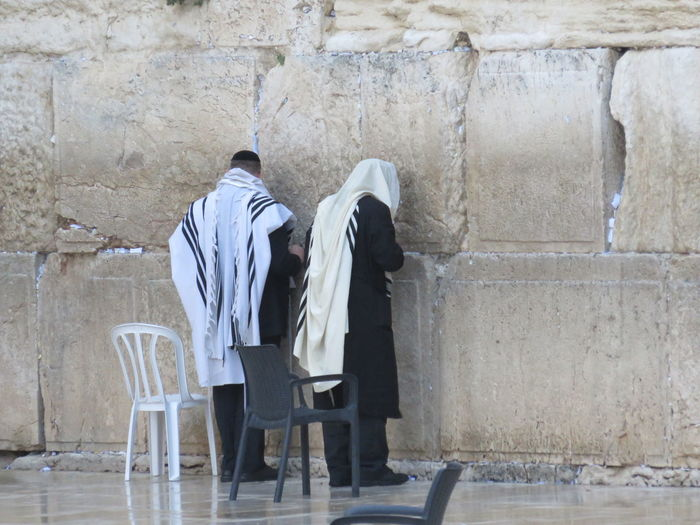 the Wailing Wall Israel Jerusalem Judaism Outdoors Person Religious  Stone Wall Temple Wailing Wailing Wall Wall Wall - Building Feature
