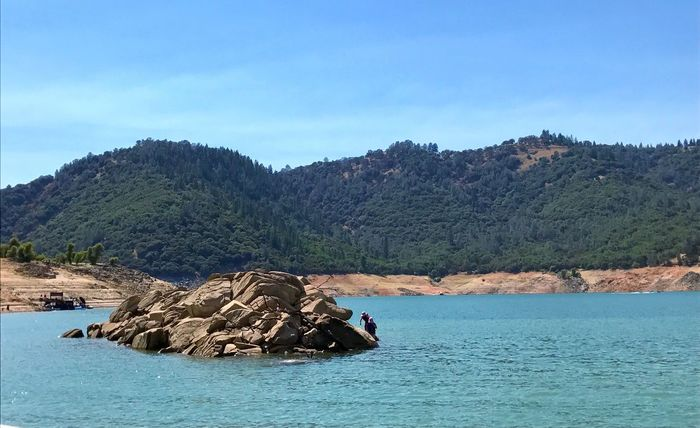 Day Mountain Waterfront Nature Outdoors Beauty In Nature Blue Water No People Scenics Sky Sea Clear Sky Landscape Tree