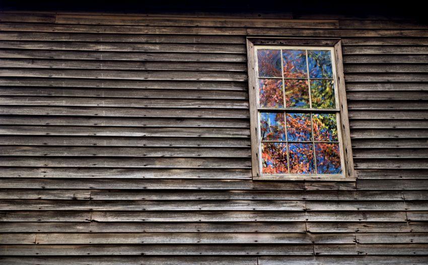 Multi colored windows of shutter