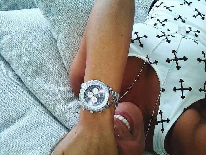 Breitling👌 One Woman Only Human Hand Nail Art