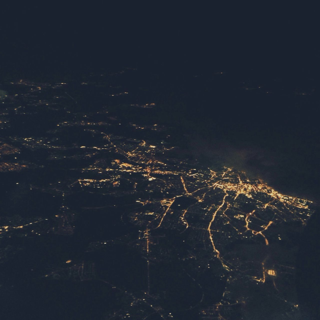 night, illuminated, no people, dark, outdoors, scenics, beauty in nature, nature, sky
