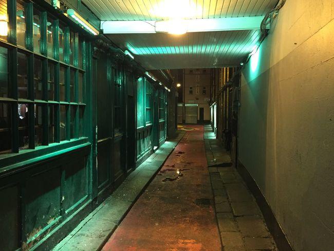 Architecture Built Structure Illuminated Indoors  Ireland Lighting Equipment Night No People The Way Forward