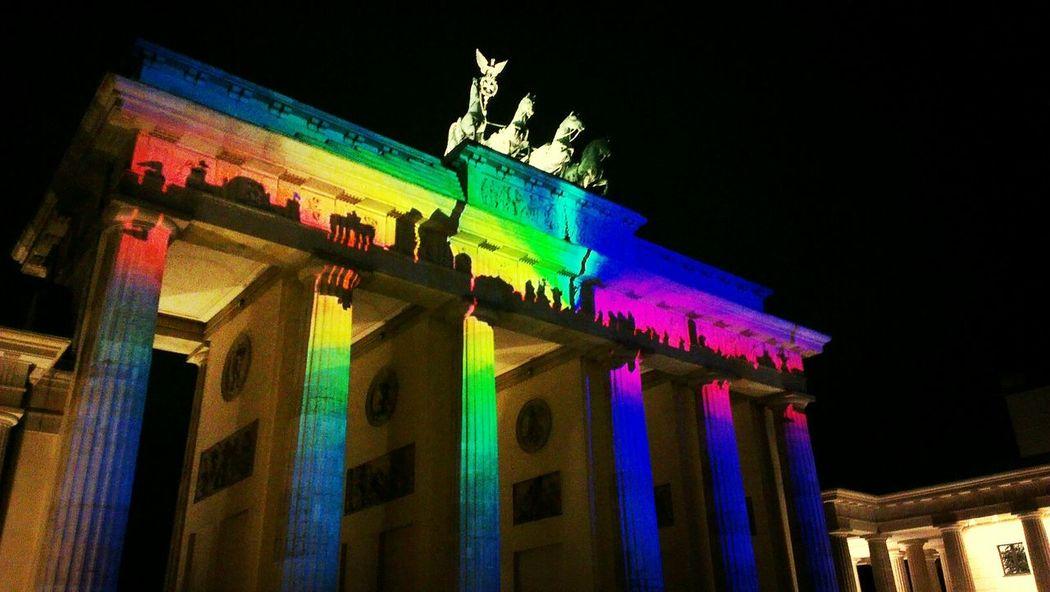 Festival of lights - Berlin Selfmaide