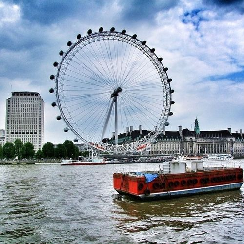 London Eye Architecture London River Check This Out