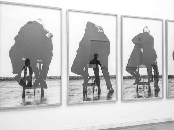 helena almeida Exhibition Art Soulmate Serralves Monochrome Photography