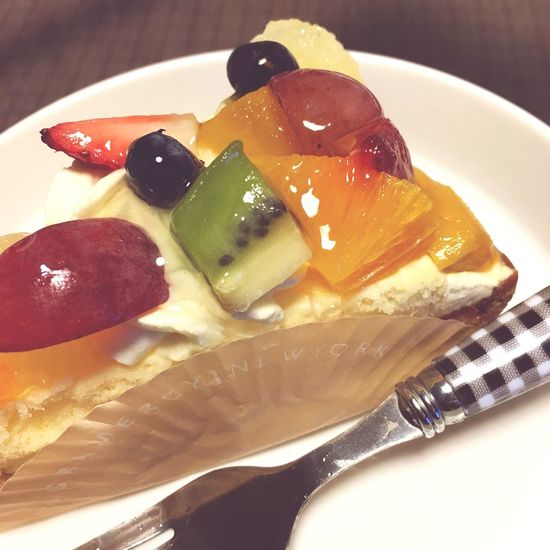 Cake Cakes Cute♡ Love Happy :) Yammy!!  大好き Sweet Good Times Enjoying Life Fruit でぶ