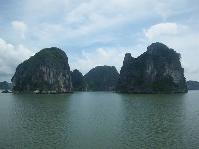 Halong Bay Lake Rock - Object Sky Cloud - Sky Landscape Island Turquoise Colored Bay Of Water EyeEmNewHere