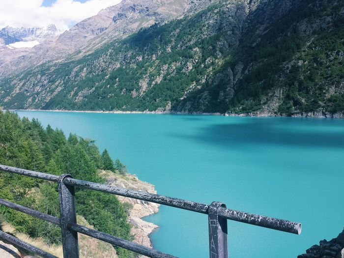 Diga Barrage Wonderful Place Water ItalyAcqua Italia Nature Vscocam Mountain
