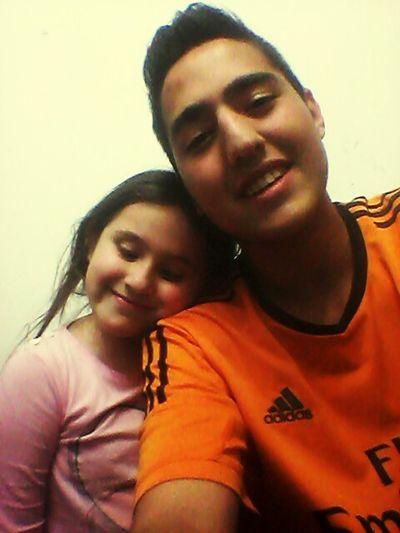 Con mi hermana♡