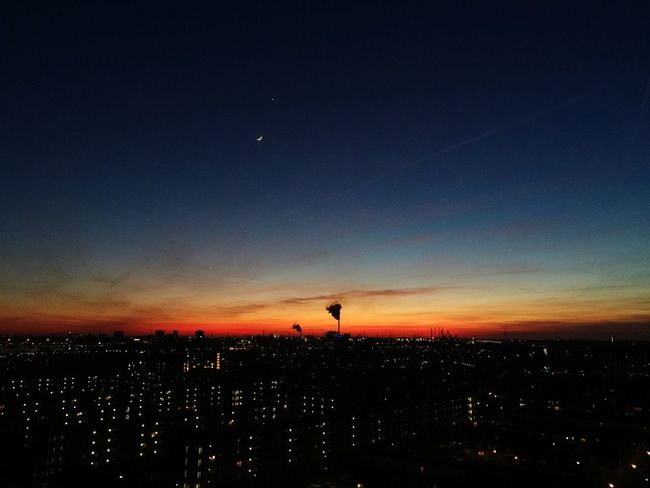 Sleep tight tonight. Check This Out Goodnight City Lights Amazing View Skyline Amsterdam View From The Balcony EyeEm Best Shots - Sunsets + Sunrise Sunset Enjoying The View