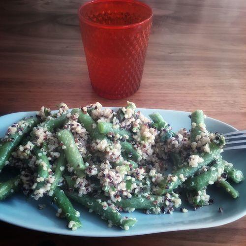 Dinner Dinner Time Veggie Love Vegetables Vegetarian Food Shootermag Green Beans Quinoa Eyem Gallery Food
