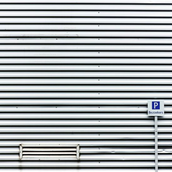 Corrugated Iron No People Pattern Outdoors Day Architecture Wallporn Wall Stripes Everywhere Stripes And Shadows Lines, Colors & Textures Stripes Photo Backgrounds Blue Communication Sign Signporn SignSignEverywhereASign Signstalkers Sign Parking Parking Lot Parking Area EyeEmNewHere