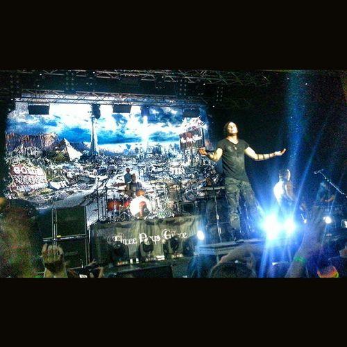 в общем, круто, ребята, когда мечты сбываются!!! Threedaysgraceconcert Threedaysgracerussia Krasnoyarsk 3DG