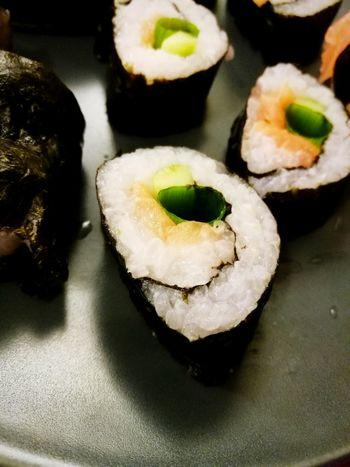 First Eyeem Photo Sushi Homemade FirstTime