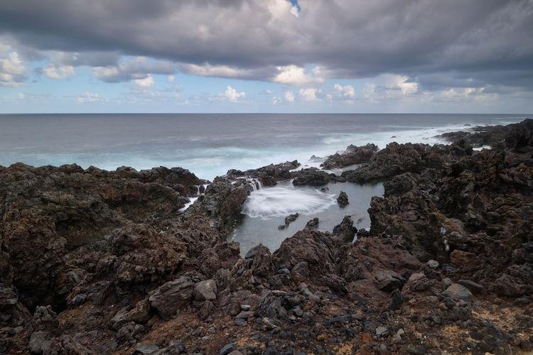 Seacoast of buenavista del norte, tenerife, canary island, spain