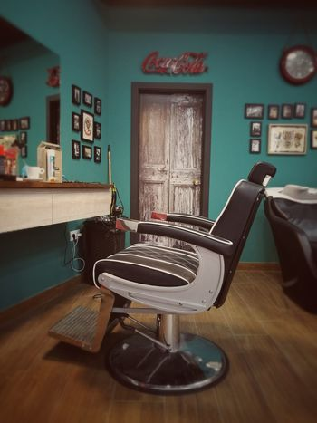 Chair Fashion Barber Barberstyle Retro Styled Barbershop Huawei P9 Photos