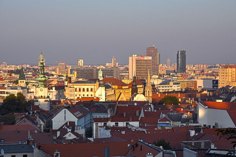 Architecture Bratislava City! Bratislava, Slovakia Building Exterior Built Structure Business Finance And Industry City City Life Cityscape HDR Hdrphotography Residential Building Roof Urban Skyline