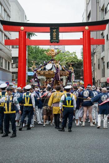 下谷神社大祭 神社