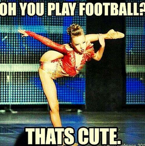 REALLY Cheerleading Football Cheer Really?