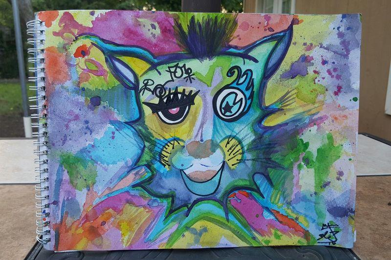 Tiger Colorsplash Colorful Artnotdrugs