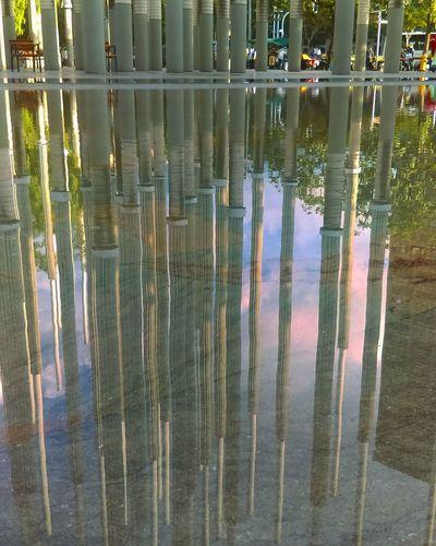 Bibliiteca epm Medellin City HTC_photography Celugrafia Urbanphotography Arquitecture Reflections In The Water