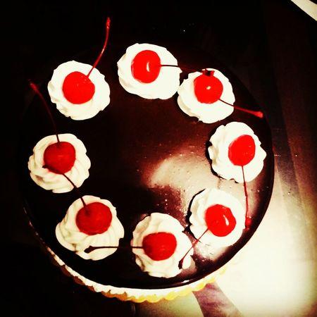 From my special someone :) Blackforestcake Cake Sweet Dessert Porn