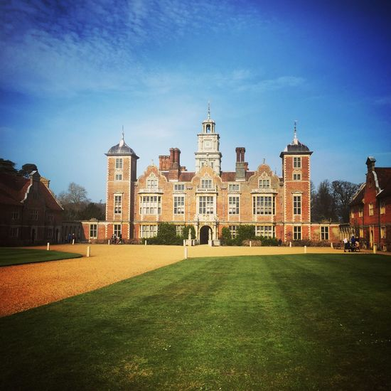Architecture Blickling Hall BlicklingHall Building Exterior Built Structure Façade Famous Place History