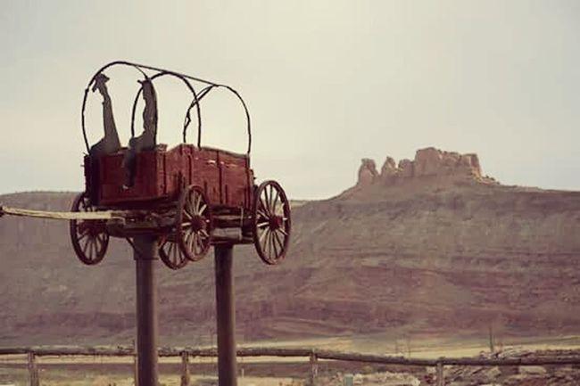 Old Wagons Wagonswest Enjoying Life Travel Desert Canyons Wagon  Oldwest Arches National Park, Utah Nikon D7100