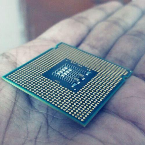 Close-up Technology Processor Inteli7