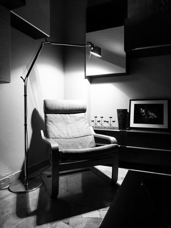 Light And Shadow two Icons of Industrial Design - Forniture Blackandwhite Black And White Black & White Interior Design Tolomeo Artemide IKEA Pöang