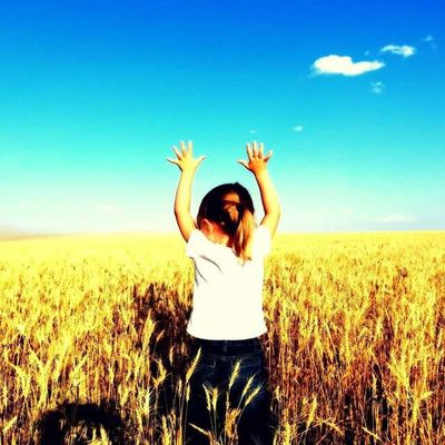 Farm Wheat Wheatfields Luvmygirl Socute Cute MyGIRL Beautifulplace Pierre SD Southdakota