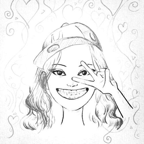 Drawing Braces! Smile :)