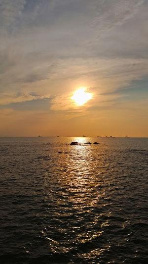 Sea Sunset Sun