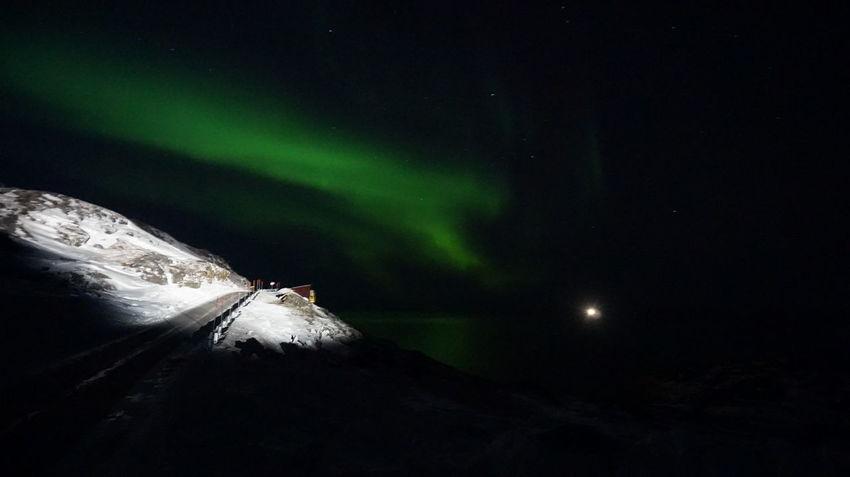Aurora Aurora Borealis EyeEm Best Shots EyeEm Best Shots - Nature Ilulissat Nature Nature Photography Snow ❄ The Real Greenland This Is Greenland Auroraborealis Nature_collection Snow Snowcapped Mountain