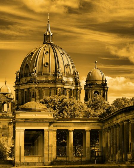 Berlin Lifestyle Photography Photo Berlin Professionalphotography Building Arch Brick Monochrome Colors Digital Industry Pixel Agency Photographer Dome Architecture Building Exterior Religion Built Structure Place Of Worship Travel Destinations Outdoors Sky Spirituality Day No People Politics And Government