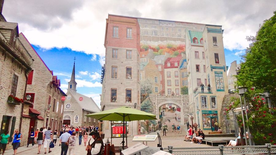 Quebec City 🏰 Quebec Canada Cityscape Canada Coast To Coast Building Exterior Built Structure Trick Photography EyeEm Gallery Travel Quebec, Canada Canada Photos Walking Wall Art Beautiful Place UNESCO World Heritage Site Architecture Art Is Everywhere Showcase June City Street Colorful ケベック カナダ 世界遺産 街並み