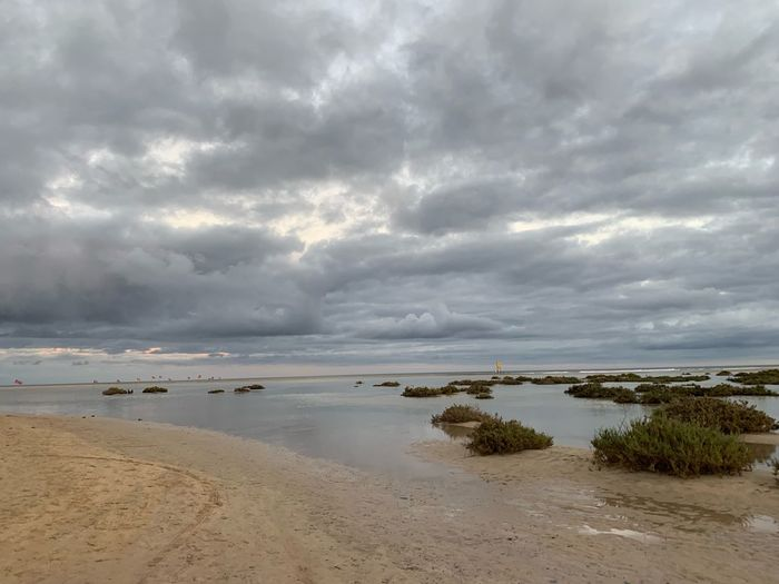 Cloud - Sky Sky Beach Land Water Beauty In Nature Scenics - Nature Sand Nature Non-urban Scene Sea Tranquil Scene Tranquility Idyllic Horizon Day Horizon Over Water No People Overcast Outdoors