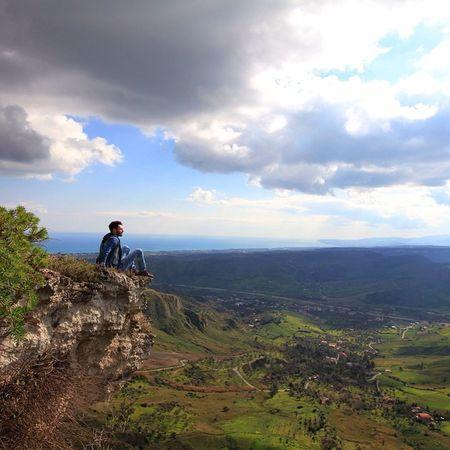Gerace Calabria Picture Nature Italia ReggioCalabria Photo Panorama Mare Marzo Canon
