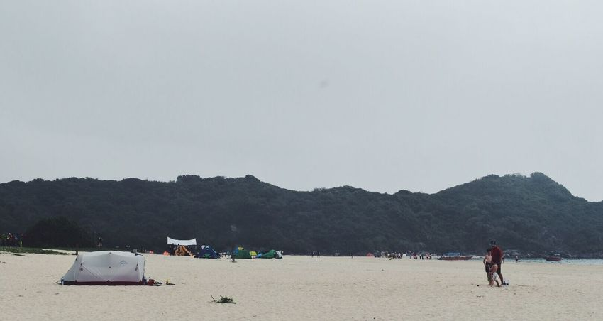 Sky Mountain Nature Land Water Real People Tree Day Beach Plant Copy Space Transportation Beauty In Nature Mode Of Transportation Incidental People Group Of People Scenics - Nature Outdoors Men EyeEmNewHere