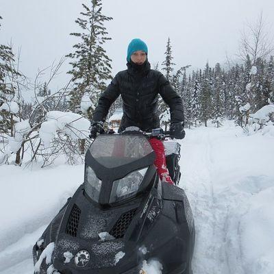 снегоход Хакасия теплый ключ