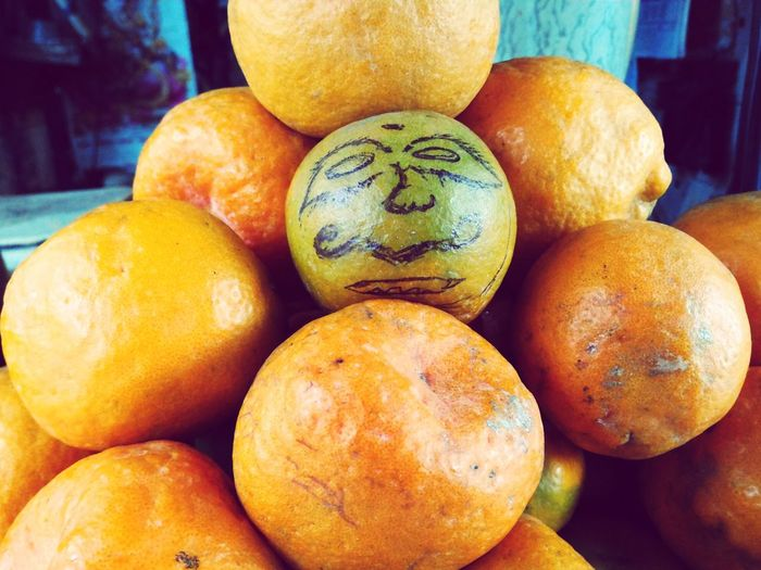 Food And Drink Food Healthy Eating Close-up Fruit Freshness Organic Funny Funny Faces Funny Fruit