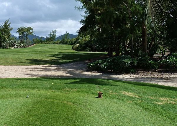Amazing Beauty In Nature Enjoying Life Fairway Golfball Golfcourse Golfing Green Green Color Growth Holiday Landscape Landscapes With WhiteWall Leisure Activity Lifestyles Mauritius Mountain Range Nature Plant Sky Taking Photos Tranquil Scene Travel Wineandmore Île Aux Cerfs