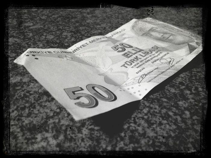 Turkish Money 50tl Lyra Turkey