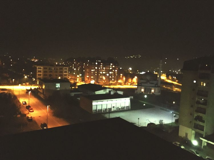 Night Architecture Built Structure Cityscape No People Sky Outdoors House Outside Photography Nightphotography Dzamija BOSNA
