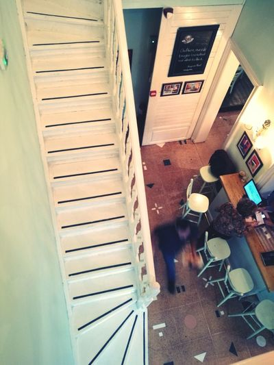 Interior Design Interior Indoors  Restaurant Cuba Style Stairs Stairs_collection Wooden Stairs Dining Thessaloniki Tourism Travel Photography Greece