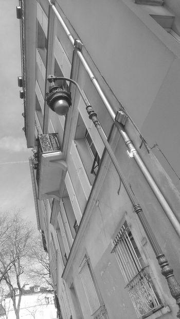 Streetphotography Blackandwhite Lampadaire